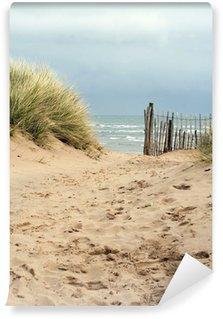 Vinylová Fototapeta Sandy cesta na pláž