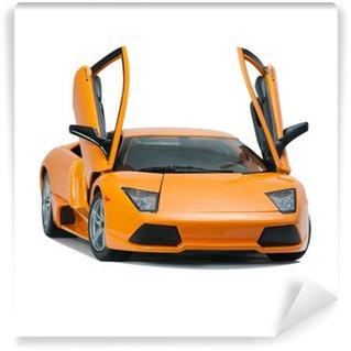 Vinylová Fototapeta Sběratelskou hračka modelu Lamborghini čelní pohled