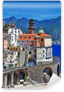 Vinylová Fototapeta Scénické pobřeží Amalfi. Atrani