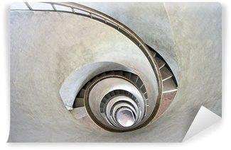 Fototapeta Winylowa Schody spiralne