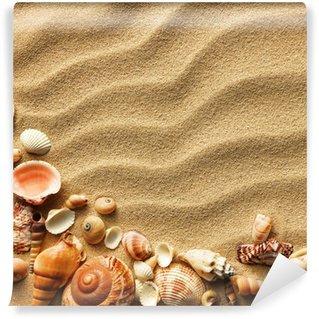 Vinylová Fototapeta Sea shell písku