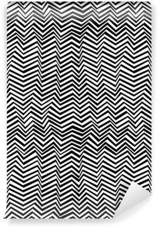 Fototapeta Winylowa Seamless abstrakcyjny wzór czarno-biały