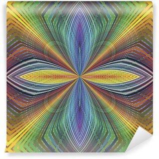 Fototapeta Winylowa Seamless Funky texture pop z wzrokowego illustion