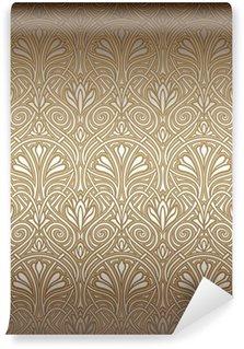 Vinylová Fototapeta Seamless pattern Art Nouveau