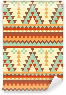 Vinylová Fototapeta Seamless pattern aztec