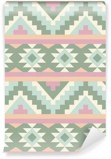 Vinylová Fototapeta Seamless pattern ve stylu Navajo 2
