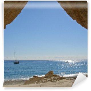 Vinylová Fototapeta Seaside jeskyně