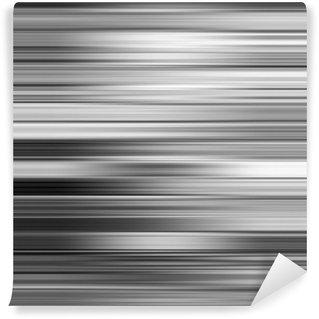 Vinylová Fototapeta Šedá metalíza rozmazání vodorovné pruhy abstraktní pozadí.