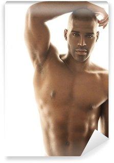 Vinylová Fototapeta Sensual mužský model