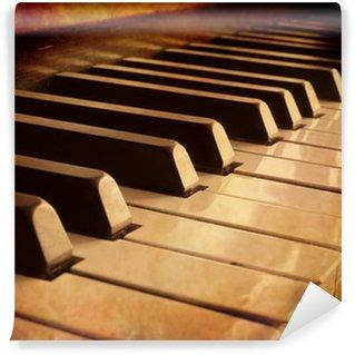 Vinylová Fototapeta Sepia Piano Keys