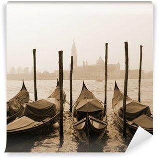 Vinylová Fototapeta Sépie obraz z Benátek