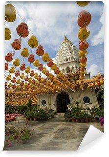 Fototapeta Winylowa Setki latarnie w Kek Lok Si Temple