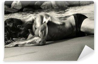 Vinylová Fototapeta Sexy nahý muž