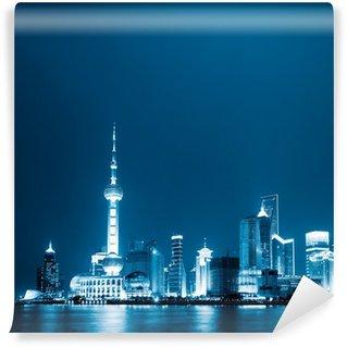 Vinylová Fototapeta Shanghai Čína