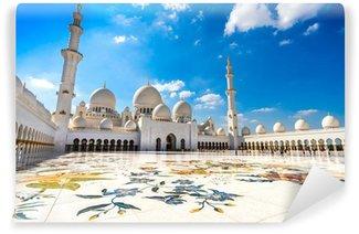 Vinylová Fototapeta Sheikh Zayed Mosque, Abu Dhabi, Spojené arabské emiráty