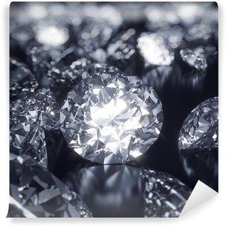 Vinylová Fototapeta Shiny Diamanty pozadí