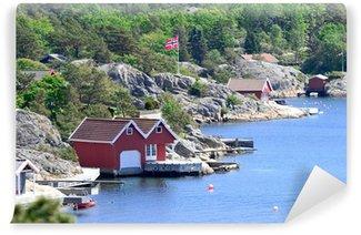 Vinylová Fototapeta Skandinávské pobřeží
