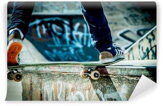 Vinylová Fototapeta Skateboard