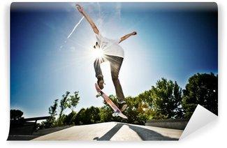 Vinylová Fototapeta Skateboarder