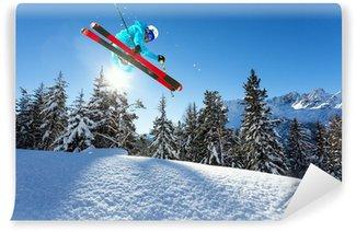 Vinylová Fototapeta Ski freestyle