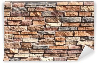 Vinylová Fototapeta Skládaný kamenná zeď