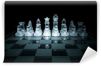 Vinylová Fototapeta Skleněná šachovnice