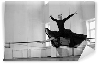 Vinylová Fototapeta Skok školení balerína