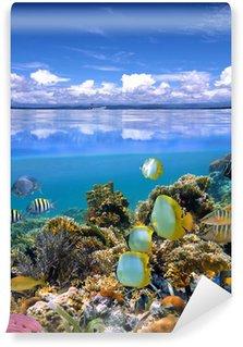 Vinylová Fototapeta Sky a moře