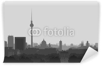 Vinylová Fototapeta Skyline Berlin