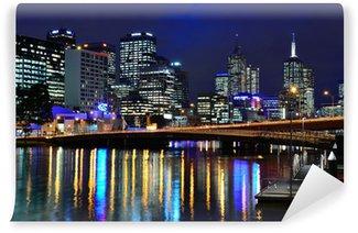 Vinylová Fototapeta Skyline von Melbourne