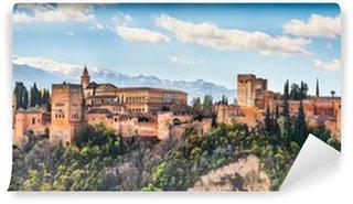 Vinylová Fototapeta Slavná Alhambra v Granadě, Andalusie, Španělsko