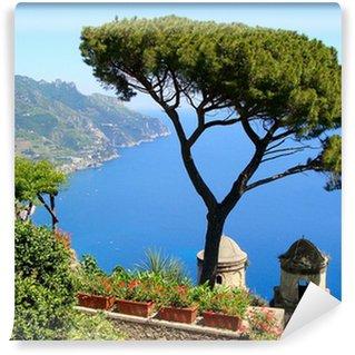 Vinylová Fototapeta Slavný Amalfi Coast pohled z Ravello, Itálie