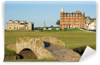 Vinylová Fototapeta Slavný Swilcan most na St Andrews Old Course
