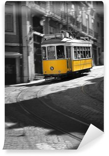 Vinylová Fototapeta Slavný Tramvaj číslo 28 v Lisabonu