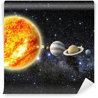 Vinylová Fototapeta Sluneční soustava
