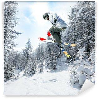 Vinylová Fototapeta Snow Paradise
