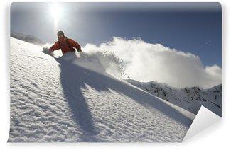 Vinylová Fototapeta Snowboard freerider
