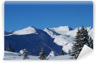 Fototapeta Winylowa Snowy Alps