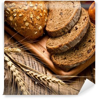 Vinylová Fototapeta Sortiment upečeného chleba