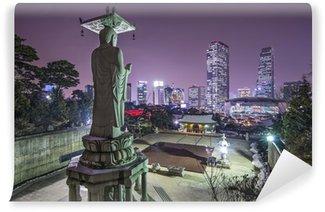 Vinylová Fototapeta Soul, Jižní Korea na Bongeunsa chrámu