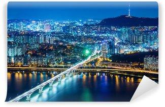 Vinylová Fototapeta Soul město v noci