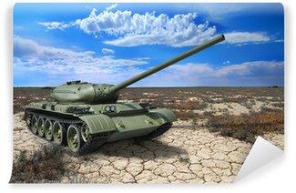Vinylová Fototapeta Sovětský tank T-54 z 1946 rok