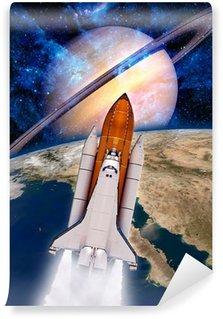 Vinylová Fototapeta Space Shuttle Rocket Spaceship