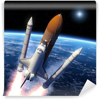 Vinylová Fototapeta Space Shuttle Solid Rocket posilovače Oddělení