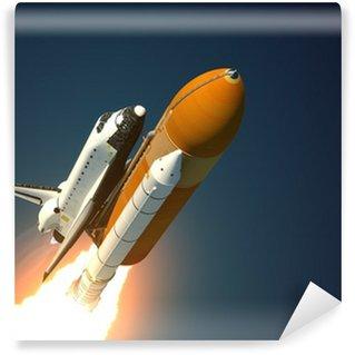 Vinylová Fototapeta Space Shuttle startuje
