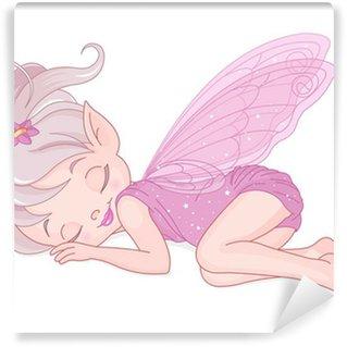 Fototapeta Winylowa Śpiąca wróżka pixy