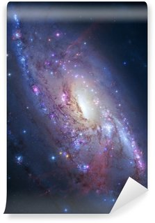 Vinylová Fototapeta Spirální galaxie ve vesmíru. Prvky obrázek poskytované NASA