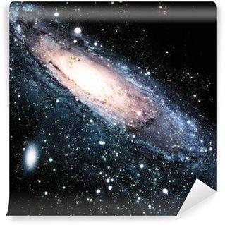 Vinylová Fototapeta Spirální galaxie ve vesmíru