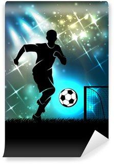 Fototapeta Vinylowa Sport tło temat piłki nożnej
