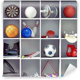 Vinylová Fototapeta Sportovní vybavení
